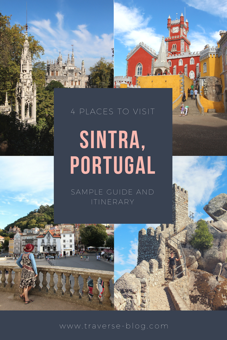 Sintra, Portugal is magical fairytale land with lots to explore. Here are 4 spots you can't miss on your next visit to Sintra!