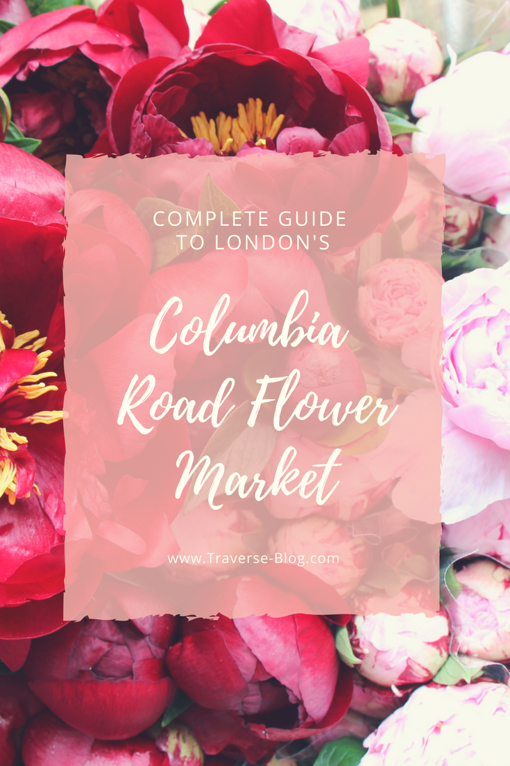 Columbia Road Flower Market in London, England is any blogger's dream! It happens every Sunday and has thousands of flowers to take photos of. Add this to your next London travel itinerary and you won't be disappointed!