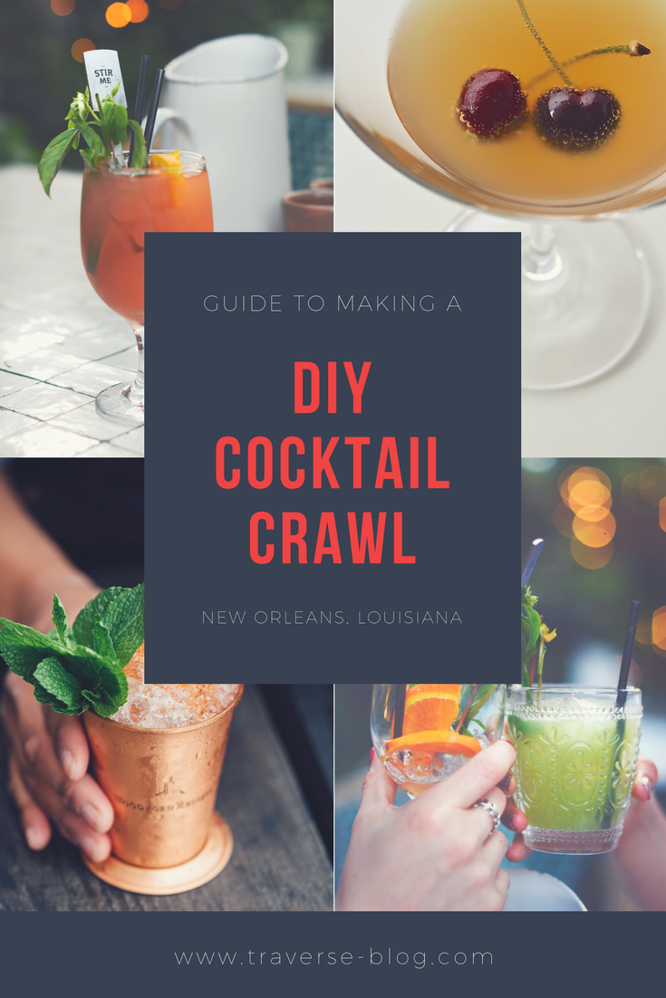 New Orleans claims to have invented the cocktail, so there is nowhere more perfect to try a few cocktails! Make your own DIY cocktail crawl with this list for the best cocktail bars in New Orleans.