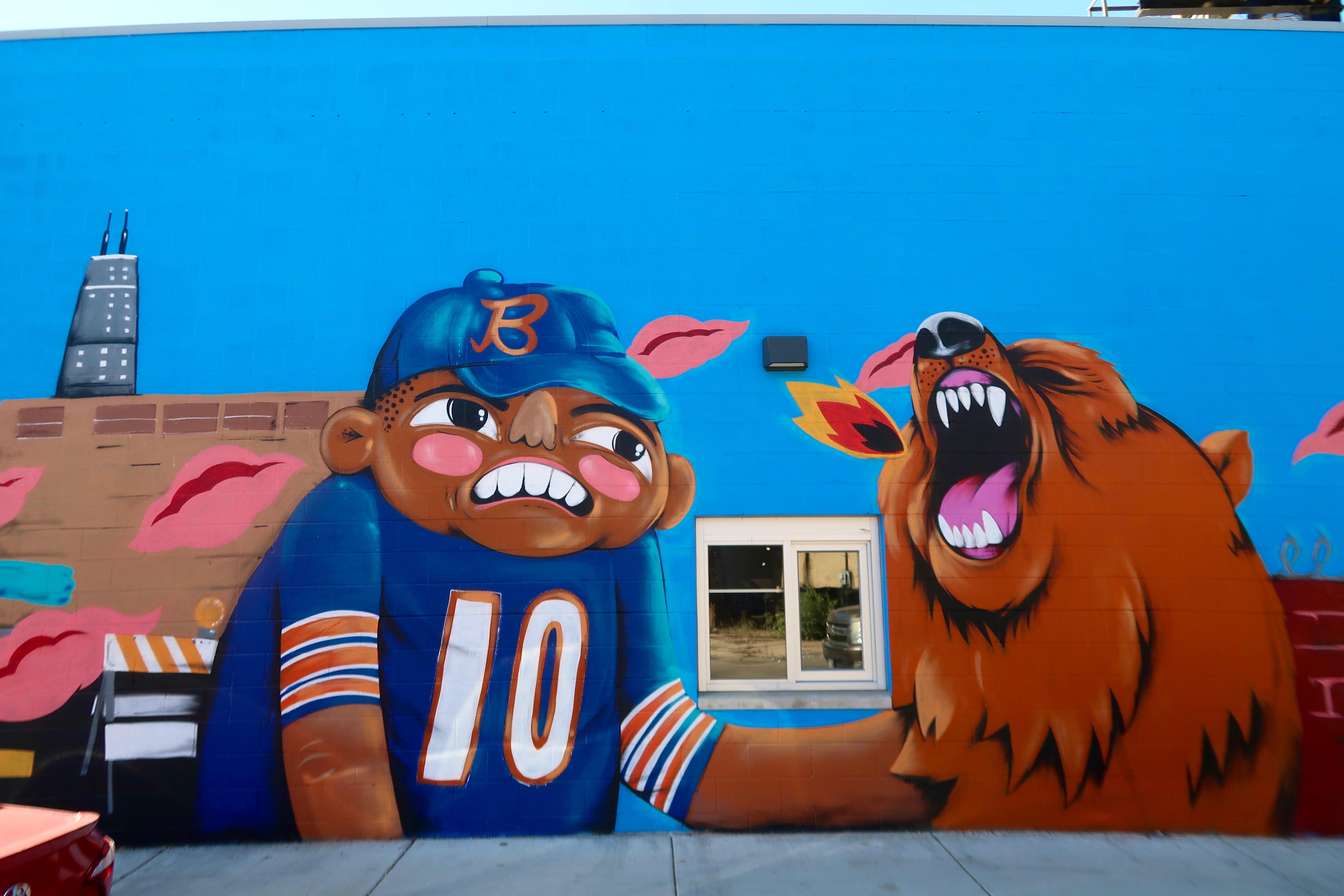 Big & Littles Mural Logan Square Chicago