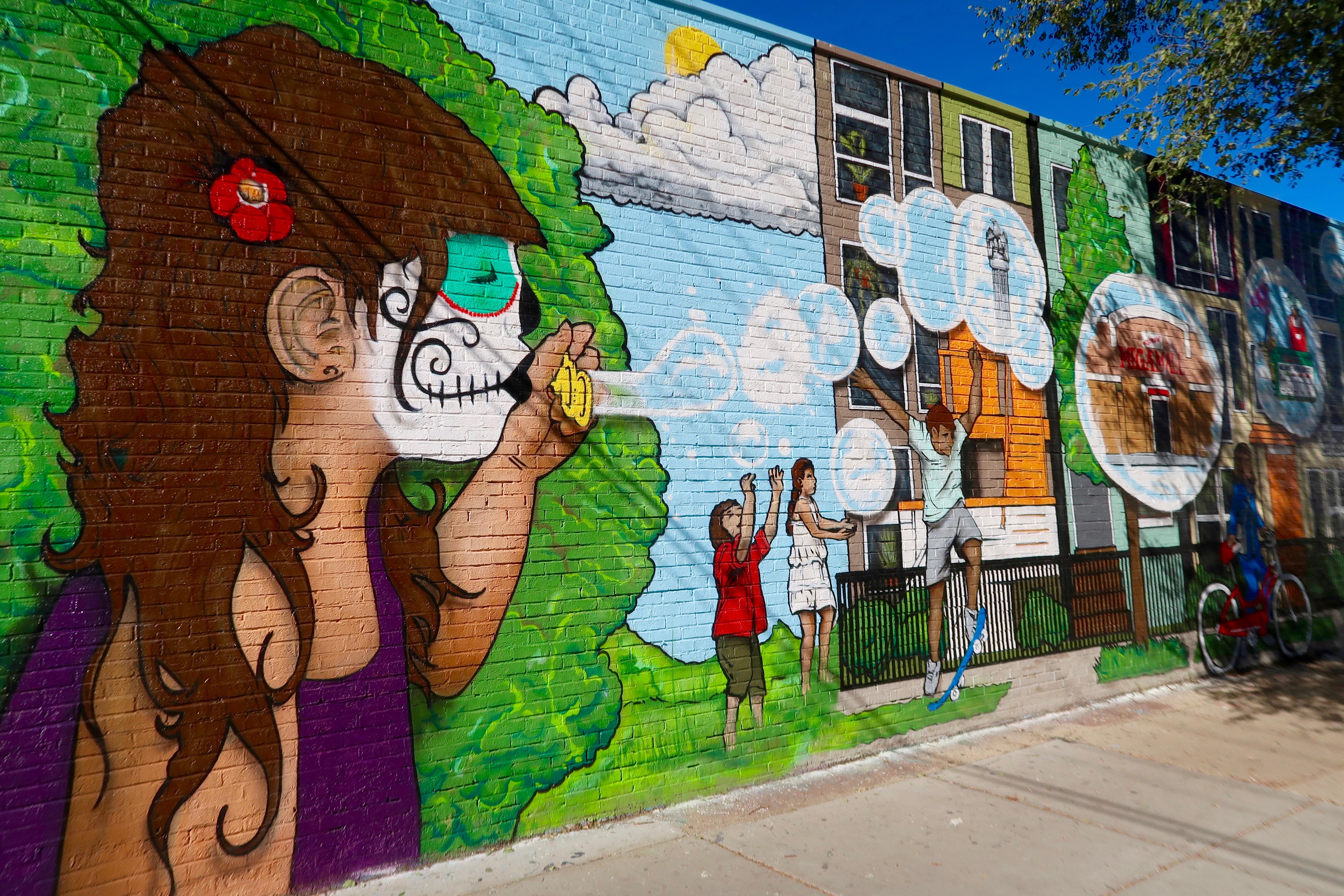 LUCHA Mural Logan Square Chicago