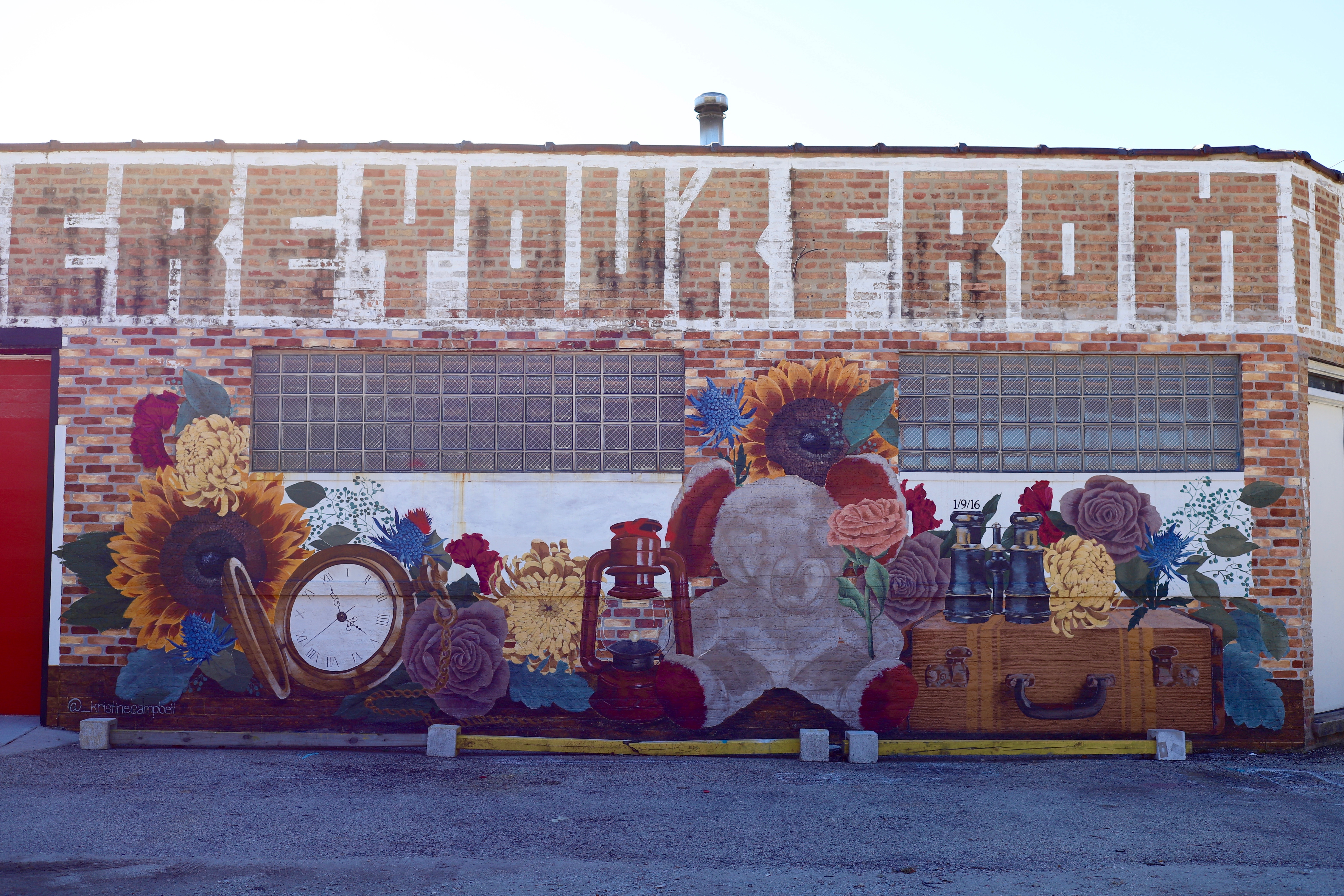 Long Weekend Mural Logan Square Chicago