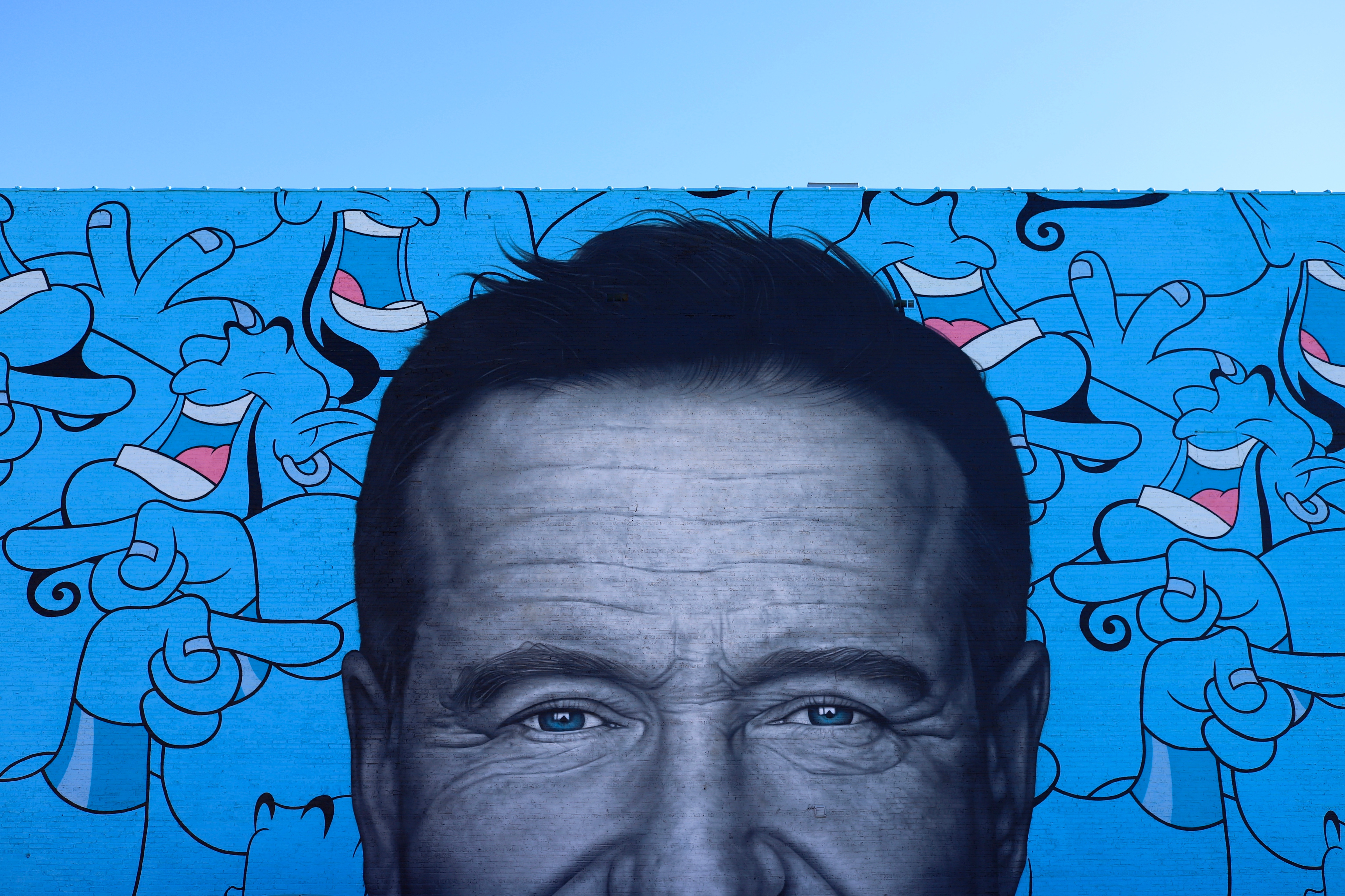 Robin Williams Mural Logan Square Chicago
