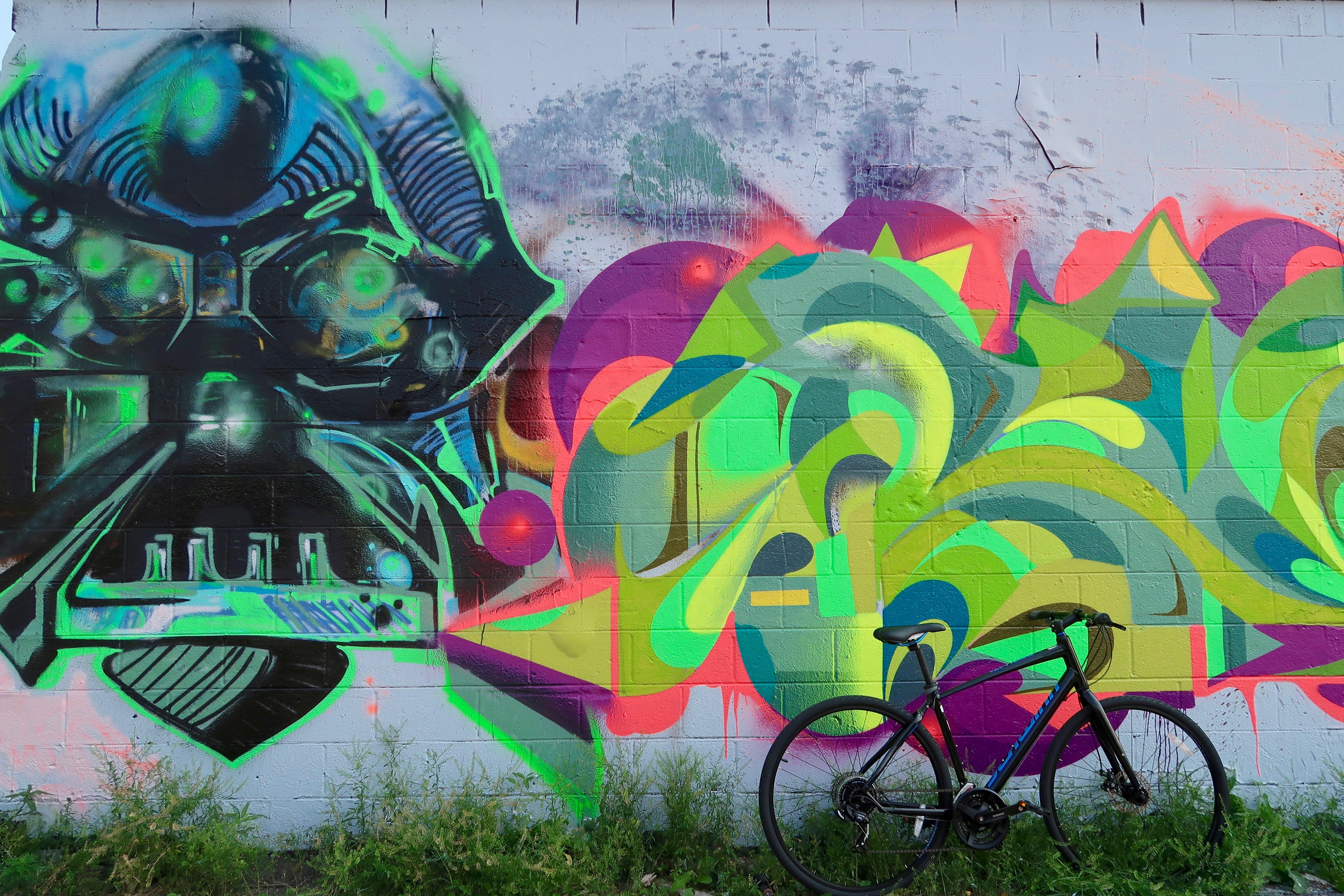 Fullerton Graffiti Wall Logan Square Chicago