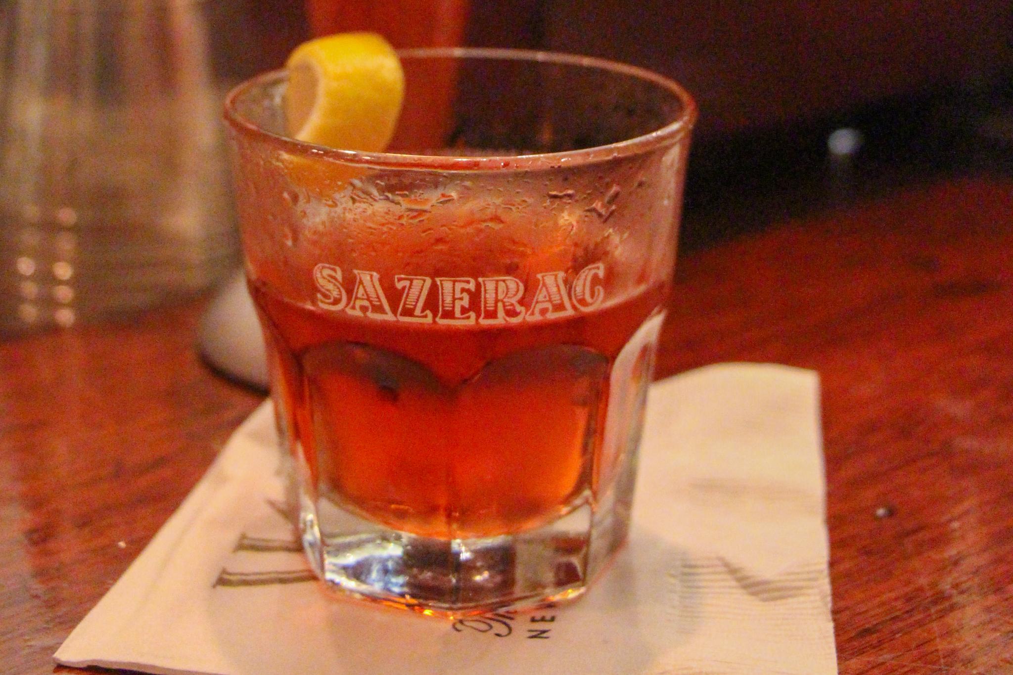 Sazarac Cocktail at Sazarac Bar NOLA